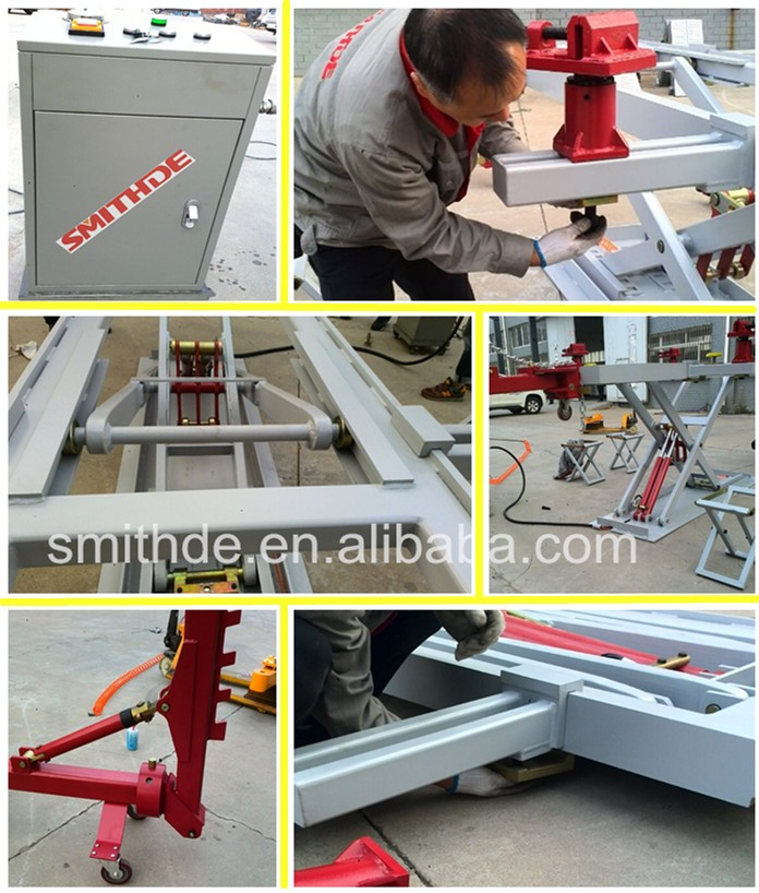 Hot sale Smithde K9 Auto Frame Straightening Pulelr Machine with CE/ISO09001