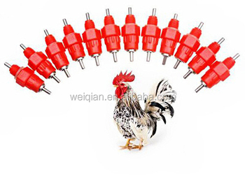 Whole sale automatic nipple drinker for chicken nipple drinker for poultry feeders and drinkers