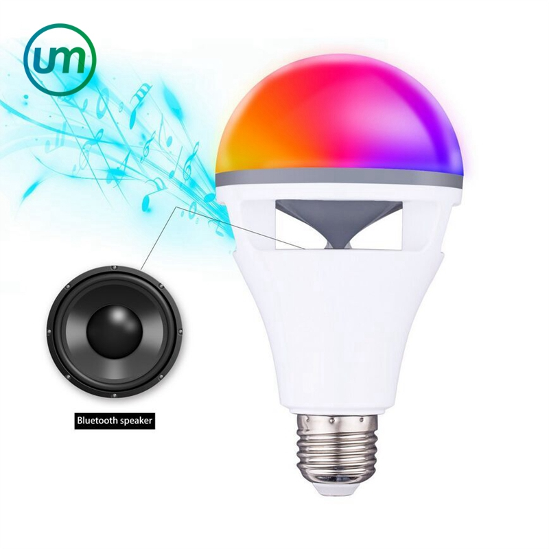 2017 NEW HOT Smart Wireless Bluetooth 4.0 Music APP Control Magic <strong>Bulb</strong>