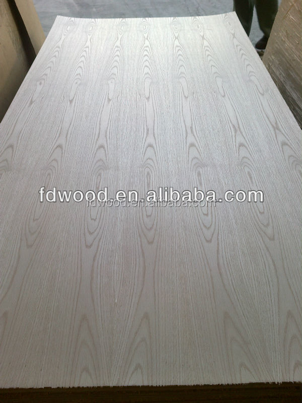 2.5mm Natural Ash Red Oak Veneered MDF Panels