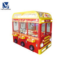 Hot Sale Coin Operated arcade machine Happy Bus Crane Game Machine For Kids