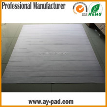 AY Small Large White Stripe Long Runner Strong For Kitchen Floor Rugs Rubber Back Mat, Large Plastic Floor Mat