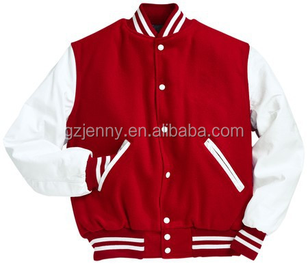OEM Custom Women Baseball Sweatshirt French Terry College Jacket