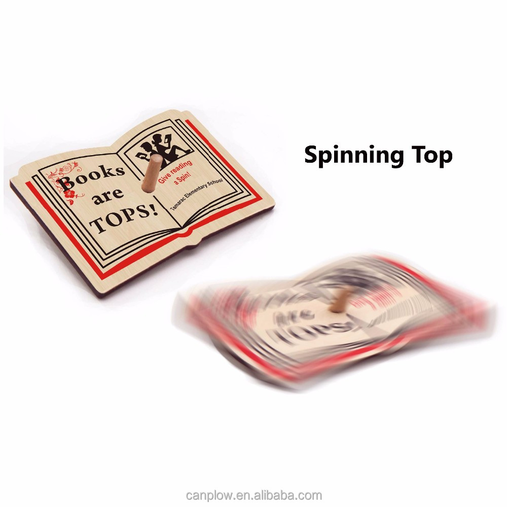 Wooden super spinning top/whipping top toys