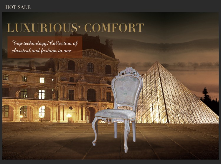 French country living room furniture villa dining chair furniture