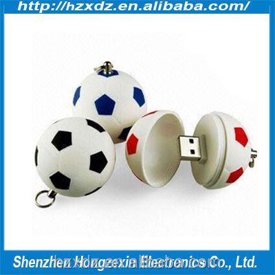 quality guarantee Plastic 4gb flash drive football