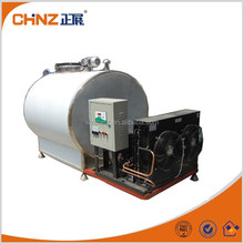 horizontal used stainless steel milk cooling stoeage tanks for sale