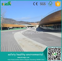 High quality plastic decking boards wood plastic composite decking overlay