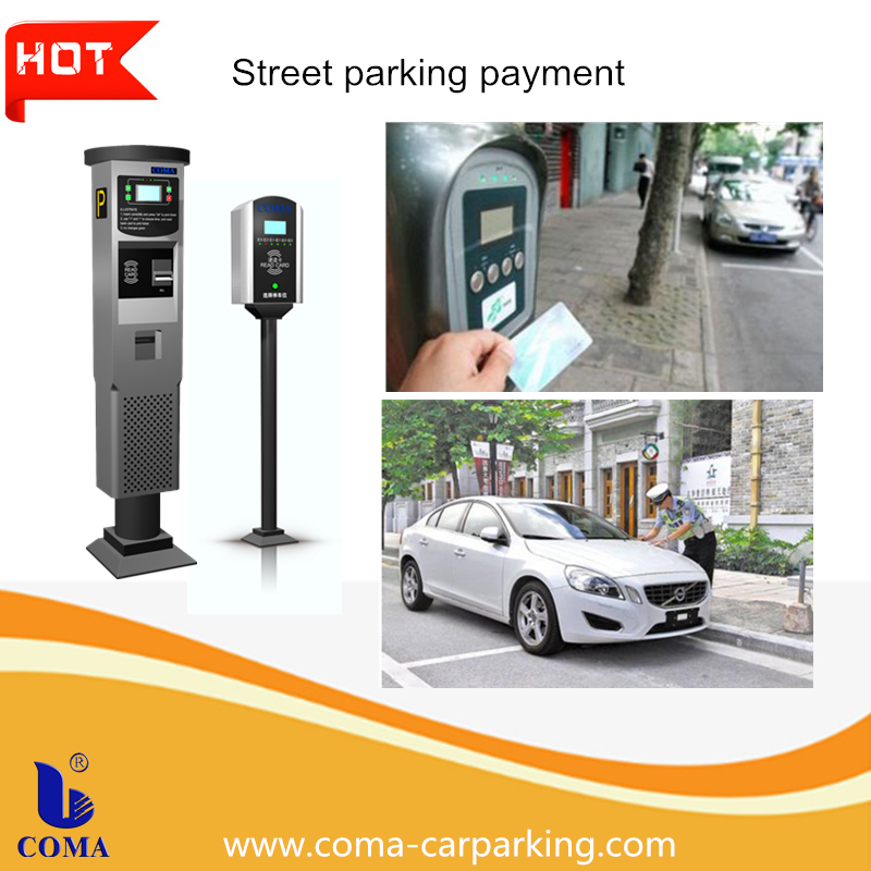 Automatic on Street solar parking meter