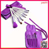 YASHI 7pcs Professional Portable makeup brushes make up brushes Cosmetic Brushes