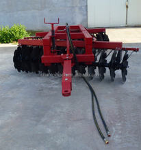 Cheap compact disc harrow implement for 90hp tractors