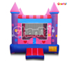 purple princess flowers inflatable castle bouncer for commercial use ,inflatable products