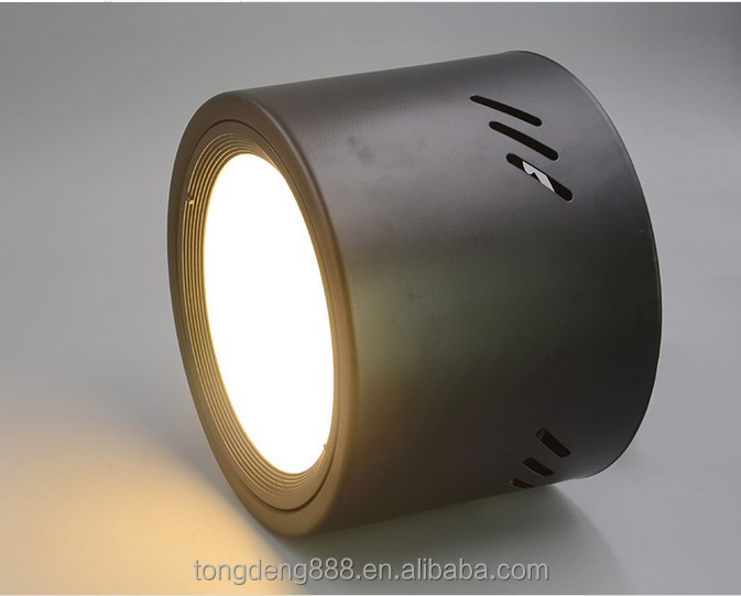 led cylinder down light-General ceiling spot look-9W ceiling down lights