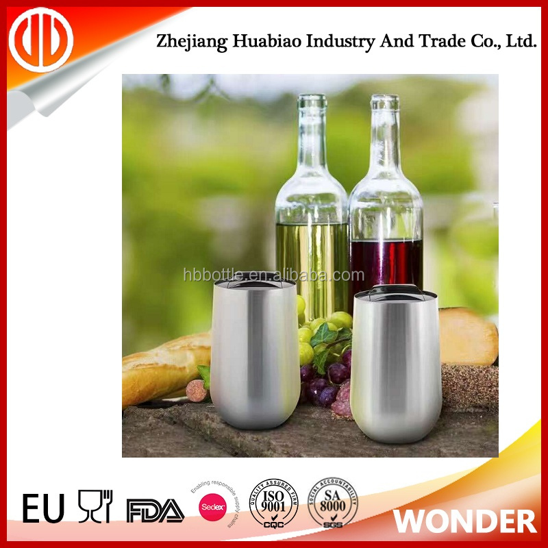 promotional stainless steel insulated cooler bottle keep beer red wine cold
