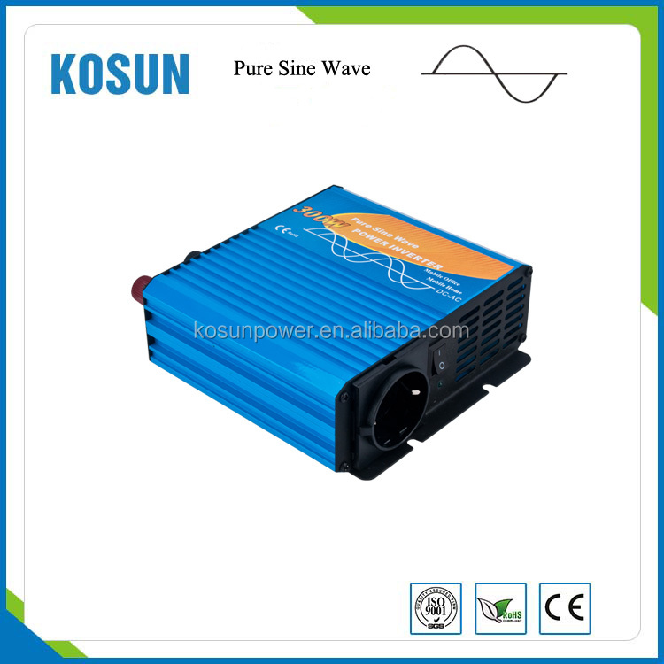 Easy to carry high frequency 300W Pure sine wave inverter off grid home inverter
