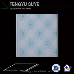 surface film/cheap building materials lightweight plastic laminate pvc ceiling panel