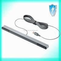 Wired Remote Ray Sensor Bar Infrared Extended Range For Nintendo Wii Controller