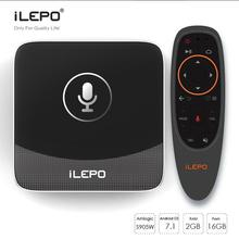 1st Voice control iLepo i18a S905w 2G+16G KD17.3 pre installed xxx free movie smart download user manual for android mxq TV box