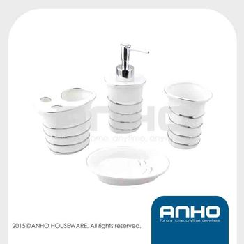 Ceramic Bathroom Accessories(4pcs)