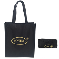 Christmas non-woven foldable shopping bag,large two-double handbag,luggage folding bag