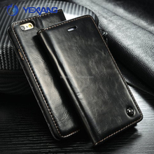 Low price china mobile phone Flip cover for samsung note edge wallet leather case