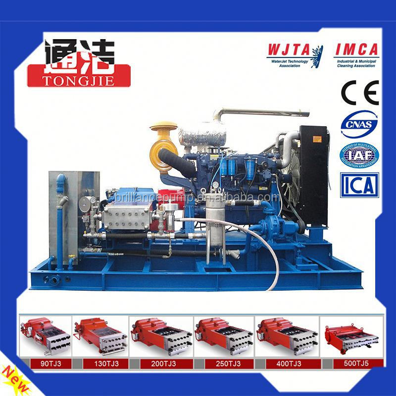 Water Jetting Blaster Pipe Cleaning High Pressure Water Jet Blaster