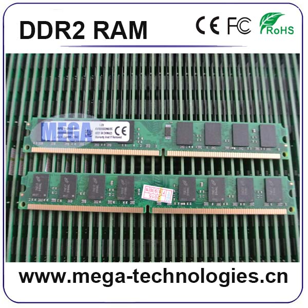 Original pc2 6400 2gb ddr2 1600mhz ram MEGA good brand quality