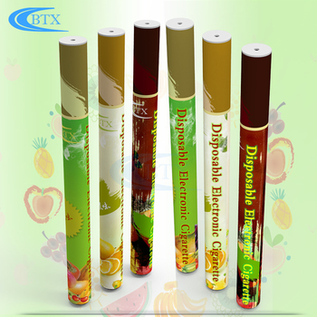 Customized e cigarette new soft tip 500puffs disposable ecig