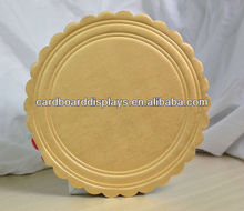 The Cheap foil embossed cake boards/drums