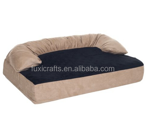 Memory Foam Joint Relief Bolster Dog Bed