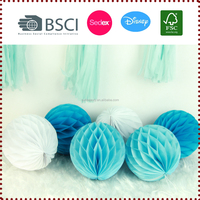 Wholesale 6 pcs Mix Color 28g Tissue Paper Honeycomb Ball Kits Decoration for Wedding Showers Party
