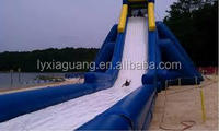 Enjoyable popular Inflatable Water park equipment Roller Coaster Type large water slide