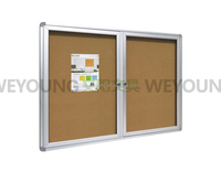 Double Doors 90*120cm Cabinet With 6 Pcs Of Pins
