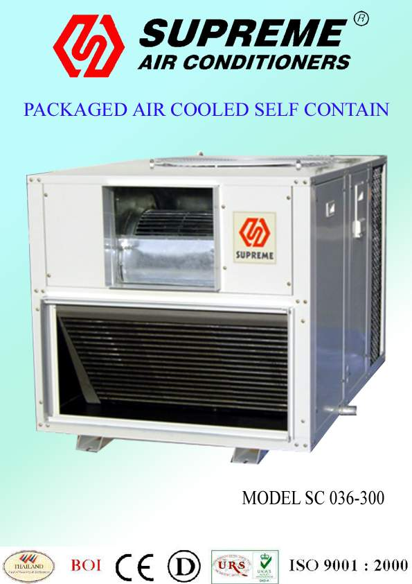 package unit (self contain) air conditioner