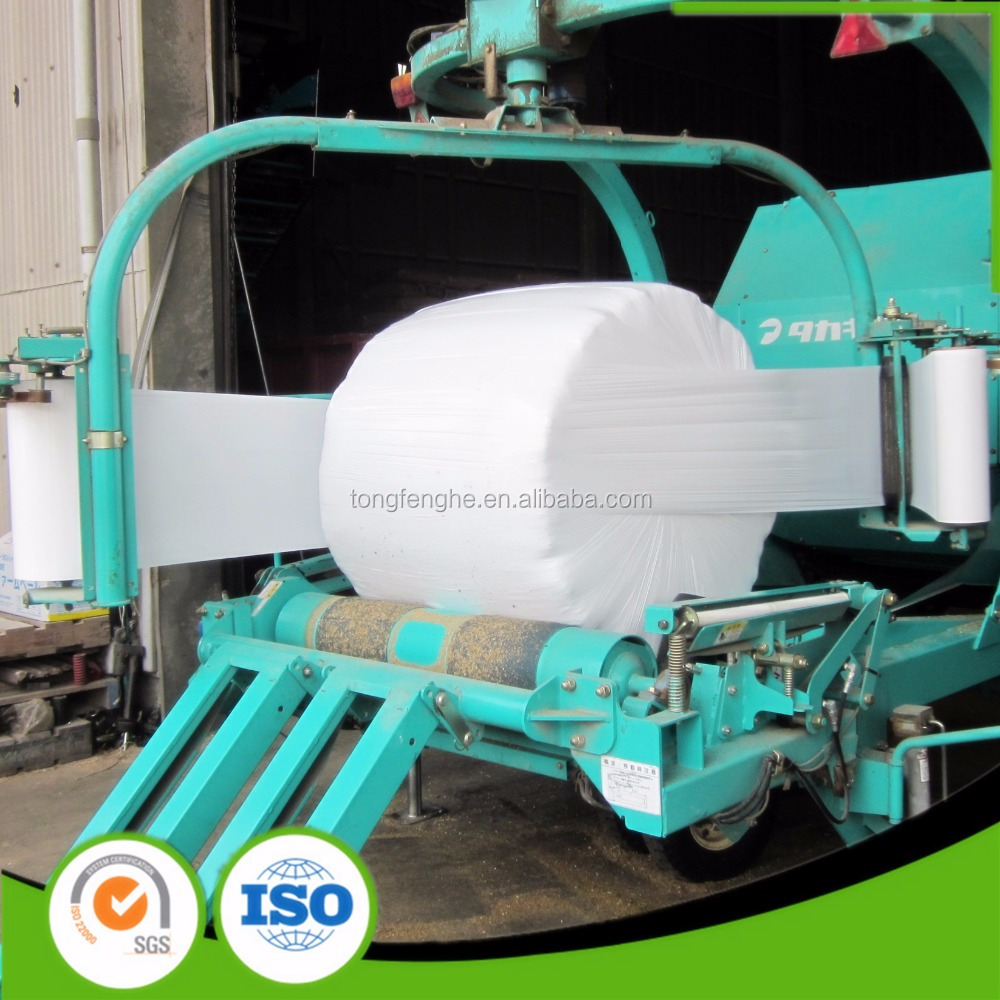 750mm x 1500m x 25um Grass Bale Wrap Silage Stretch Film