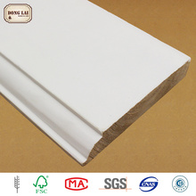 Decorative Manufacturer Direct Supply Primed Pine Trim Cornice Wood Moulding With Low Price