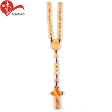 Nice design wholesale different types of chains cross pendant jewelry necklace