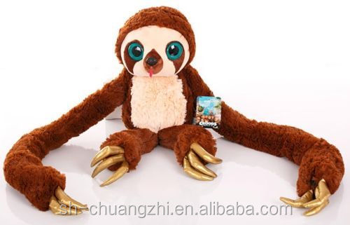 GIANT Belt the sloth, stuffed Belt of The Croods Plush Toy Dream Work Holiday