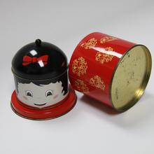 Special shaped Cute metal tin gift packing boxes, toy box for new year