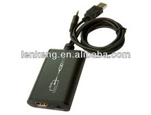 USB 2.0 to HDMI 3.5mm Audio Video Converter 1080P