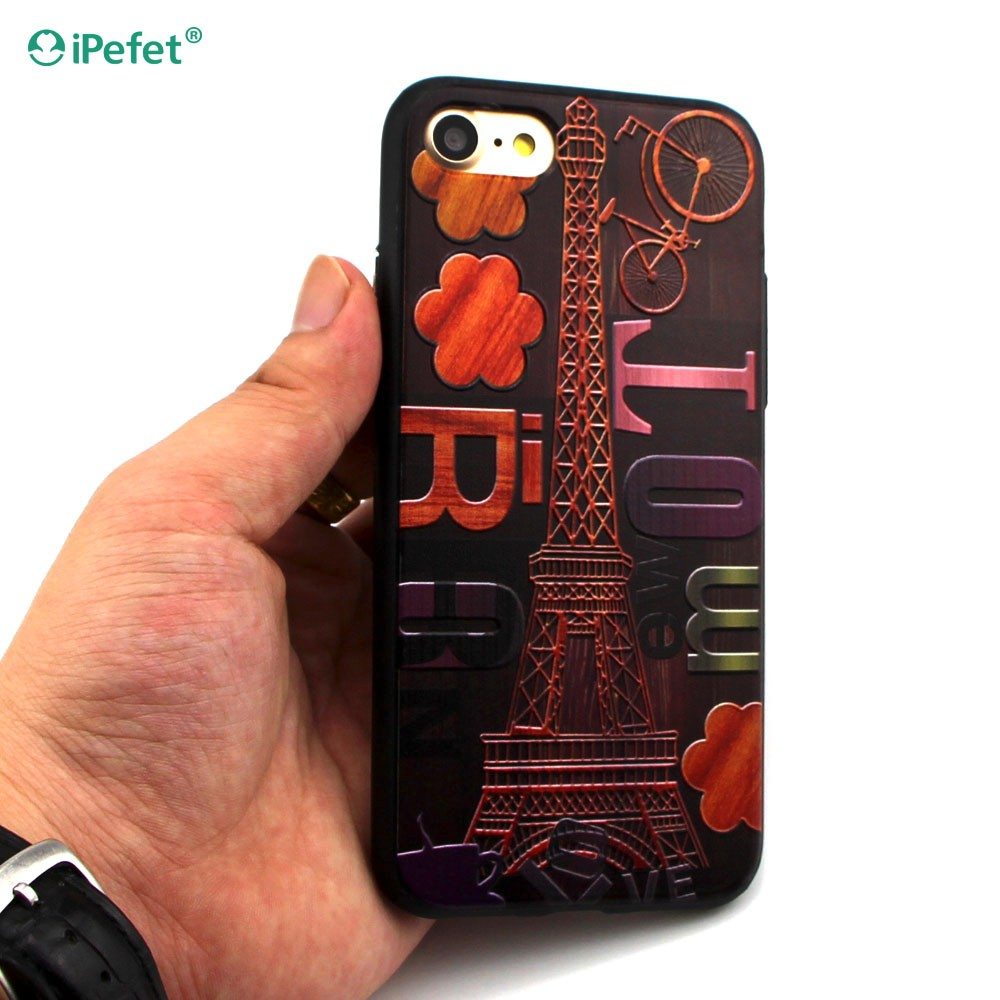 Custom Printing 3D Hybrid TPU+PC Hard Cartoon Mobile Phone Case For iPhone 6