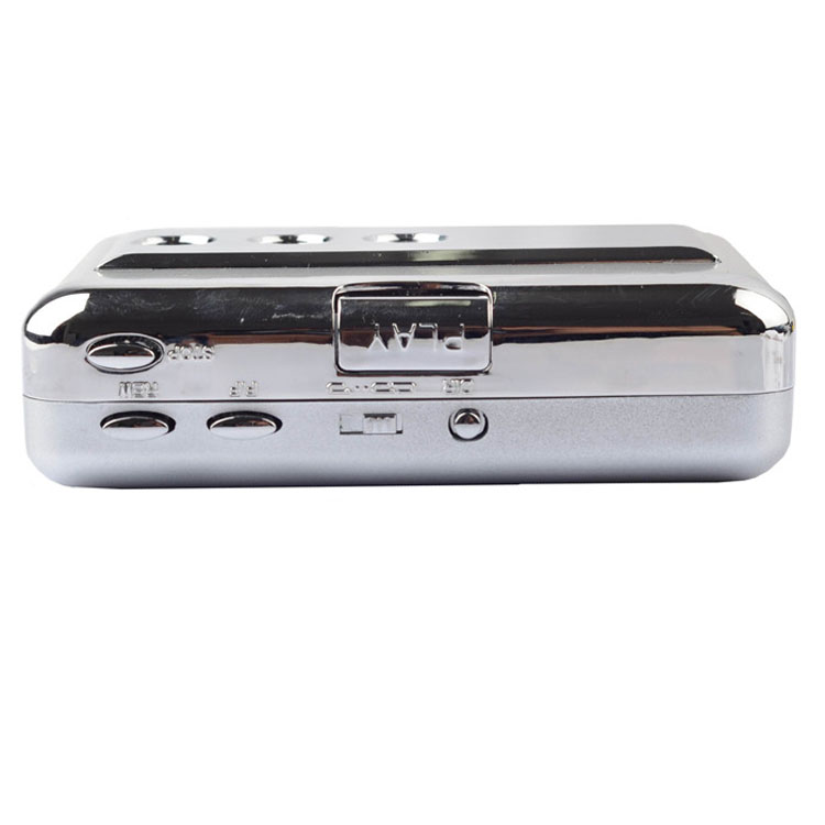 ezcap218B USB Audio Cassette Tape Converter to MP3 CD Player PC cassette player with auto reverse Casstte to MP3