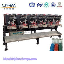 6 Heads Thread Cone Winding Machine With Tube