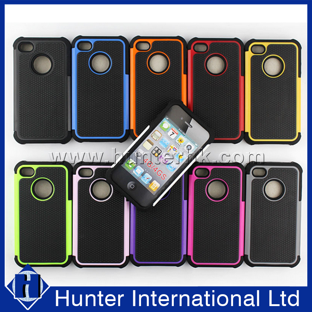 2in1 PC + Silicon Hybrid Combo Case For iPhone 6
