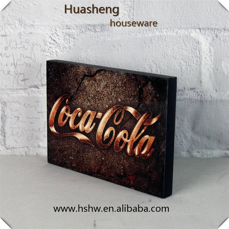 Cheap promotional promotional sublimation mdf door plate