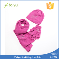 2016 Premium Brand China OEM Manufacturer Hat and Scarf for Sale In High Quality