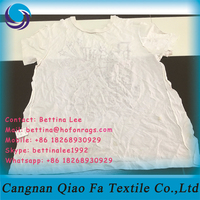 strong oil absorbency hosiery cutting waste cheap used cotton rags fit for cleaning the car oil and painting