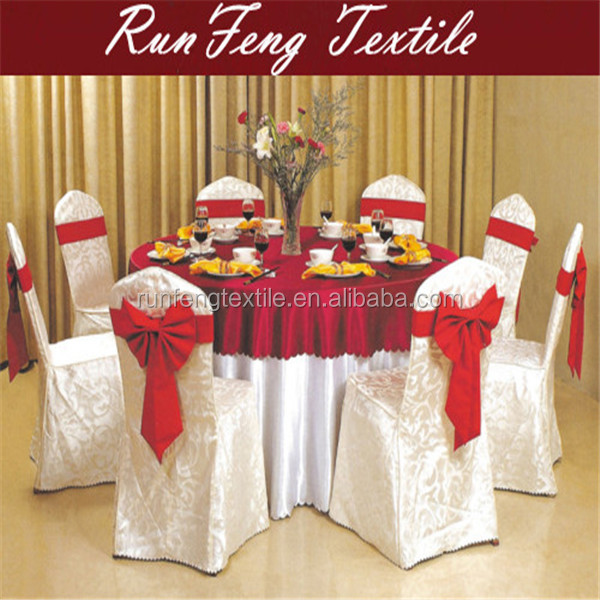 Polyester chair cover for wedding made in China