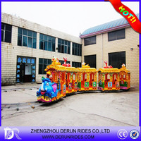 2015 Hot Selling Outdoor Kids Electric Train Games