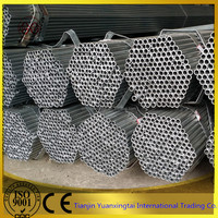 GI HDG Galvanized steel iron tube / pipe from China tianjin pipe making industry area